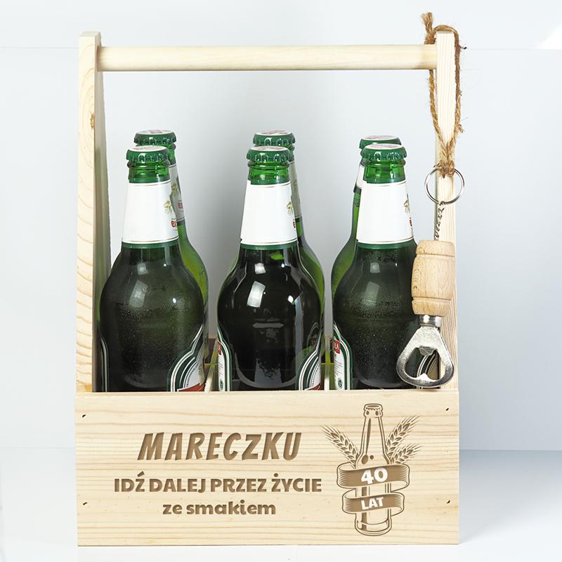 prezent na 40 urodziny nosidło na piwo