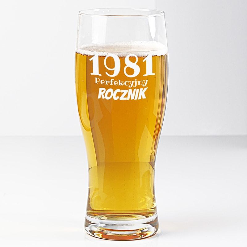 szklanka na piwo z imieniem