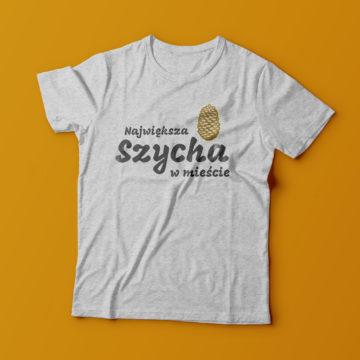koszulka dla dzieci - Największa szycha w mieście