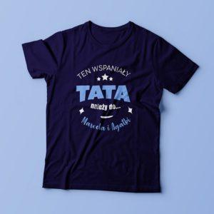 koszulka dla młodego taty