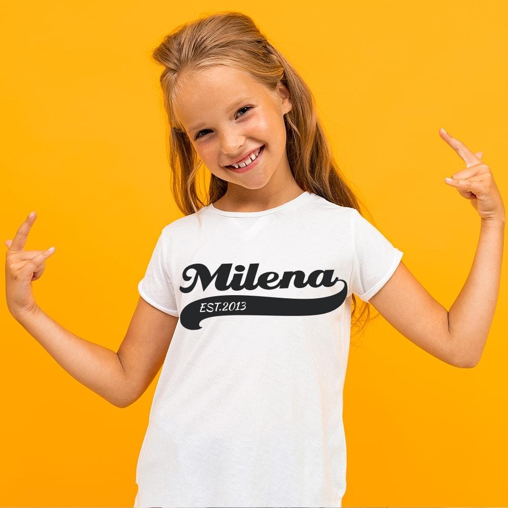Koszulka dla dzieci w stylu retro