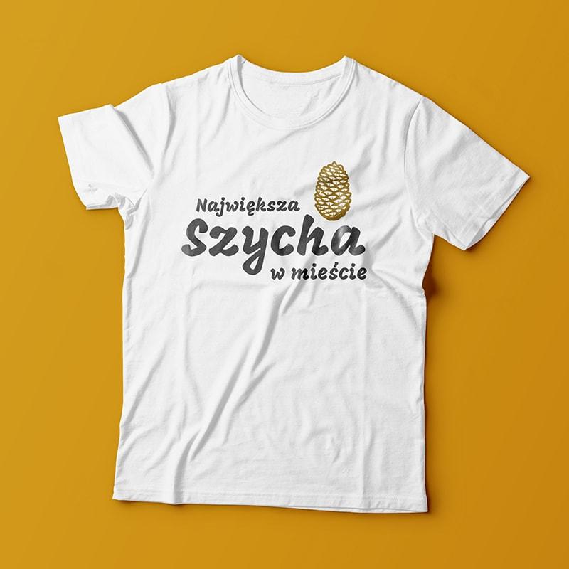 koszulka dla dzieci z szychą